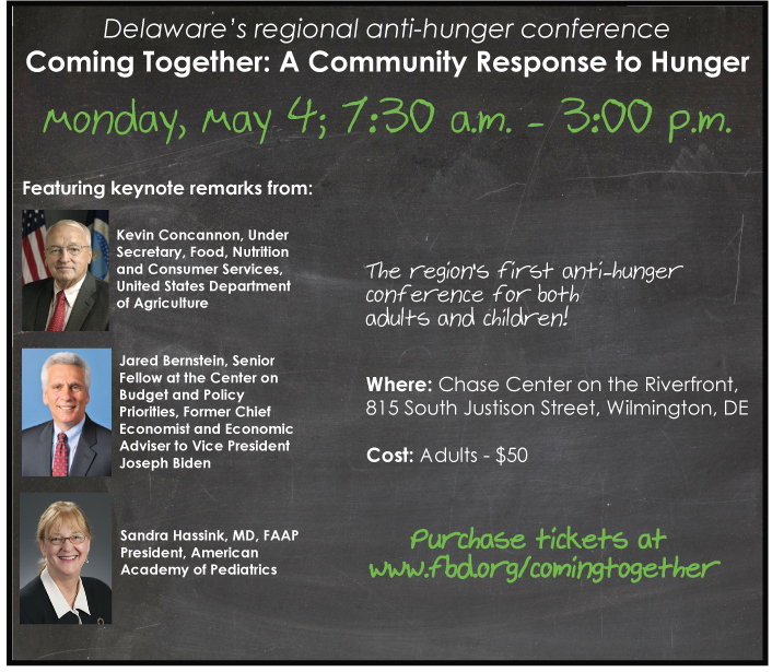 Delaware Anti-Hunger Conference 2015