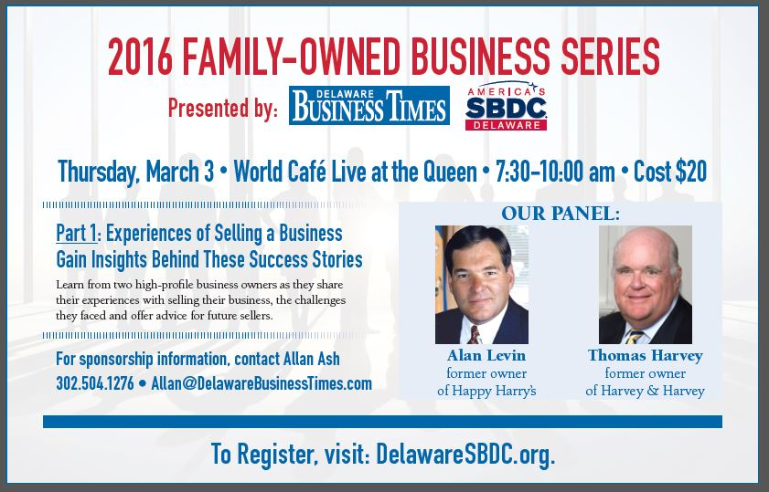 Register for the 'How to Buy/Sell a Business' Event Today!