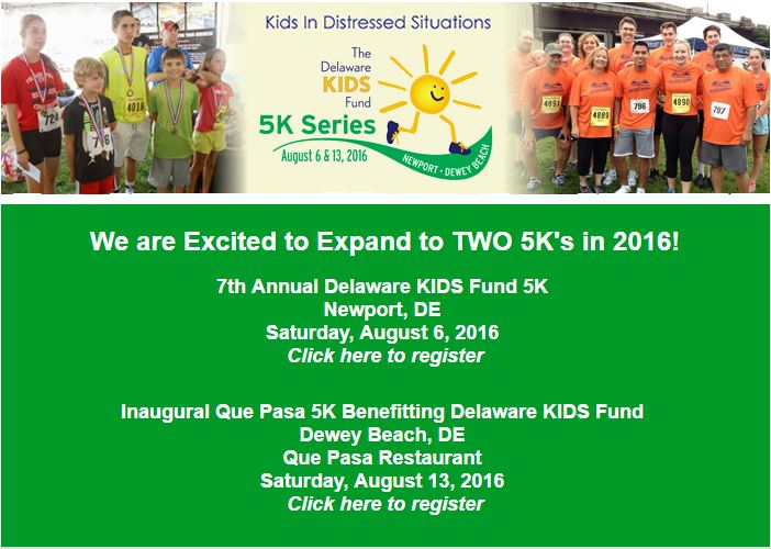 Delaware KIDS Fund 5K Race