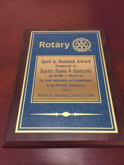 Harvey Hanna & Associates Presented 'Community Service' and 'Spirit of Business' Awards